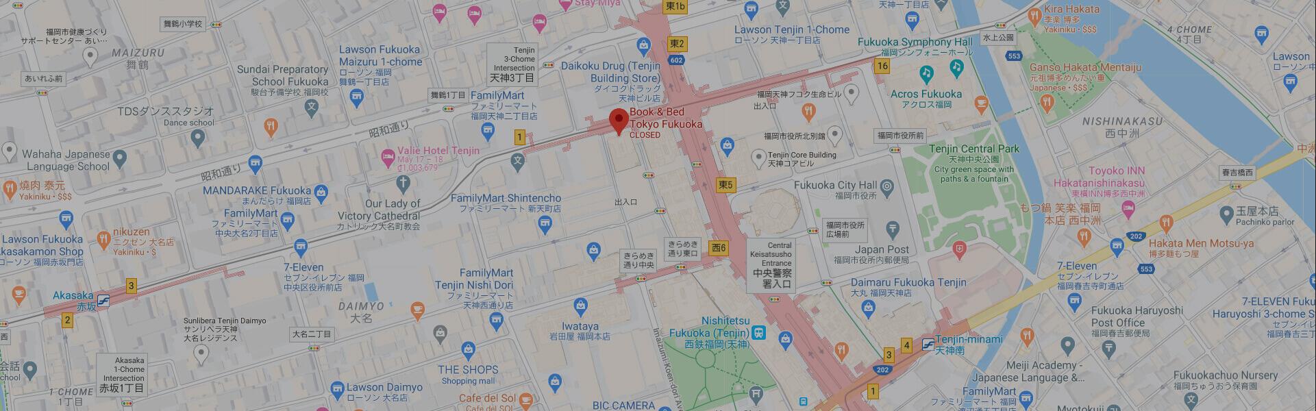 Google Map fukuoka