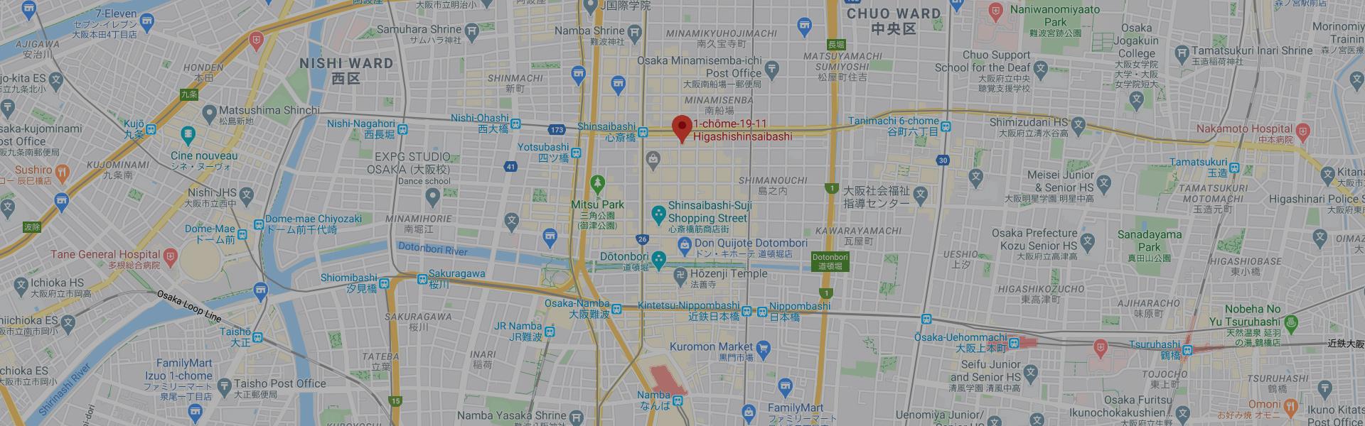 Google Map Shinsaibashi